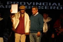 Reconocimiento a Juancito Guenaga