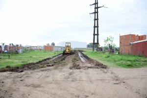 El Municipio prepara terreno para la construcción de viviendas en el René Borderes