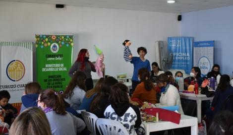 Con presencia de funcionarios provinciales se realizó importante taller de prevención del maltrato infantil