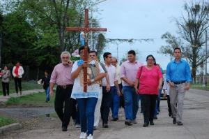 El intendente participó de la fiesta patronal en honor a la Virgen del Rosario de San Nicolás