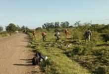 Adiós a los basurales clandestinos: La Comuna desplegó una serie de acciones en la Ex Ruta 14