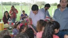 El Municipio en acción: Recorrida por Cazadores y Día del Niño en Pairirí