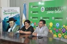 Presentaron el VII Festival Tarragosero en la Capital Correntina