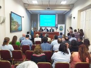 """José Irigoyen en el lanzamiento de """"Municipios Saludables"""" en la ciudad de Corrientes"""