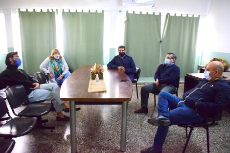 Funcionarios de Salud Provincial felicitan a Curuzú por el manejo de la prevención de la pandemia