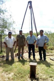Irigoyen puso en funcionamiento una segunda bomba de agua para el Barrio Porteño