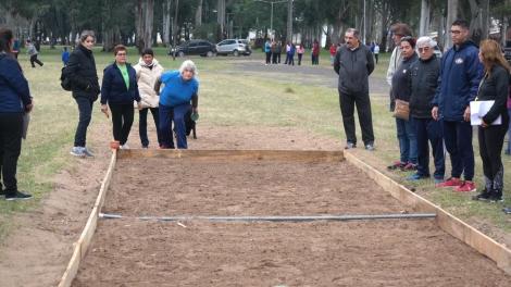 Adultos mayores de Curuzú clasificaron al Provincial de Tejo y Newcon