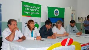 Campaña conjunta entre Provincia y Municipio contra el sarampión