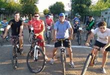 A bicicletear con el Intendente
