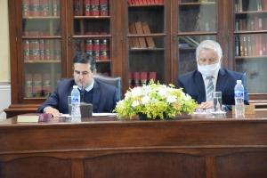 El Ejecutivo acompañó los actos por los 100 años de la primera sesión