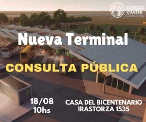 Nueva Terminal: La Consulta Popular será el 18 de Agosto
