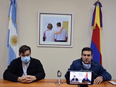 Irigoyen y Grela analizan las nuevas medidas y ratifican la continuidad de la cuarentena