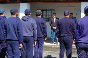 Irigoyen auguró éxitos a los aspirantes a Cabo de Policía