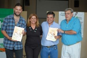 """Pedro Zubieta entregó """"Partituras, Álbum 2"""" en Casa del Bicentenario"""