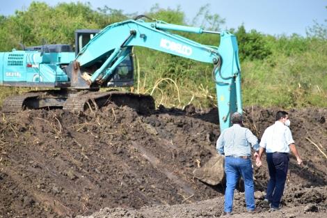 Obras que perduran y trascienden: Avanza la obra de canalización del Arroyo Castillo