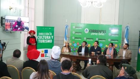 El Festival del Locro Curuzucuateño fue presentado en la Casa de Gobierno