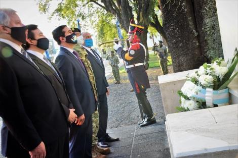 Curuzú homenajeó a Manuel Belgrano en el bicentenario de su fallecimiento