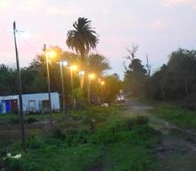 El Municipio continúa iluminando la ciudad