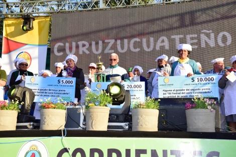 Más de 30.000 personas pasaron por el XII° Festival del locro curuzucuateño