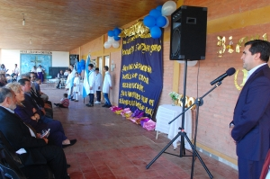 En los 100 años de la Escuela Pago Largo Irigoyen resaltó la importancia de la educación para el progreso de los pueblos