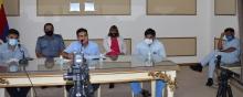 Covid-19: Encabezados por el intendente Irigoyen, autoridades brindaron una conferencia de prensa