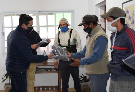 Irigoyen visitó Cazadores y felicitó a las autoridades por los logros en la localidad