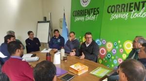 Juegos Correntinos: Daniel Ojeda se reunió con el secretario de Deportes de la Provincia Jorge Terrile