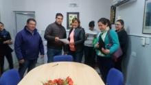 El Intendente entregó pensiones por discapacidad