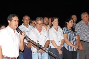 El intendente Irigoyen inauguró 1400 metros de alumbrado en Chiclana y Ex Ruta 14