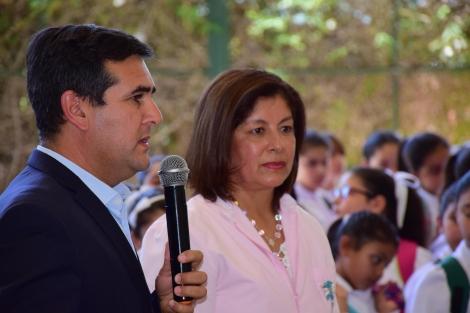 El intendente Irigoyen inauguró el ciclo lectivo 2020