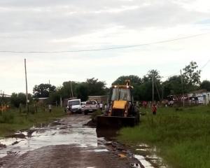 El equipo municipal realiza relevamientos permanentes en las zonas afectadas