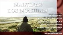 """A 36 años de la Guerra de Malvinas, presentarán en la Feria del Libro """"Dos Mochilas"""", el Documental"""