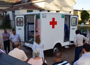 Curuzú recibió una nueva ambulancia