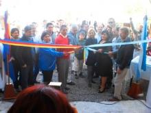 Inauguración del centro de acopio de lana