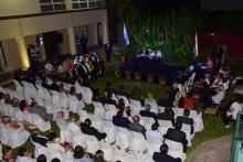 El Intendente Irigoyen presente en la ceremonia de juramento a Concejales electos y auditores
