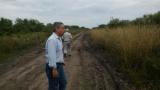 La solución del camino a Paraje Basualdo, por ahora el problema