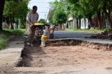 Calles cerradas por repavimentación y bacheo