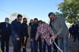En el aniversario de la Patria Irigoyen inauguró la plazoleta