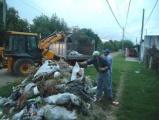 Limpieza de basurales clandestinos