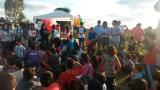 Festejos por el día del niño en el Barrio Porteño