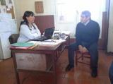 Domínguez en la Escuela 32 Belgrano