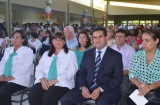 El Intendente y vice de Curuzú Cuatiá participaron de varios actos de colación