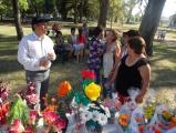 Lalo Domínguez festejo con las madres