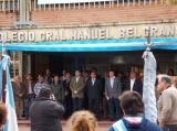 Se celebró el Día del Himno Nacional Argentino