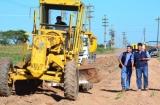 Irigoyen recorrió obras y afirmó que se está cumpliendo con el compromiso asumido