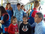 """Recorrida con niños del JIN 43 """"Ivotí Miní"""""""