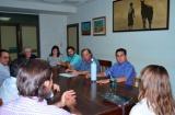 Irigoyen participó de una importante reunión sobre seguridad en el ámbito rural