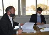 José Irigoyen firmó convenio con la Provincia para la creación de la Oficina del Emprendedor