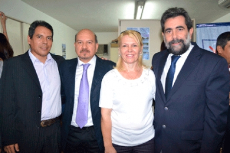 El Intendente Domínguez estuvo en Corrientes
