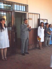El Intendente Domínguez inauguró ciclo lectivo 2012